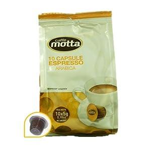 Caff㨠Motta Capsule  Arabica Pz.10