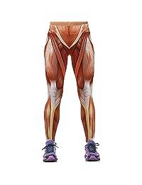 TINYUNICORN Women Active Running Full Workout Ankle Legging Tights Yoga Pants