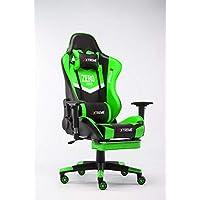 Extreme Zero Series Gaming Chair Green & Black