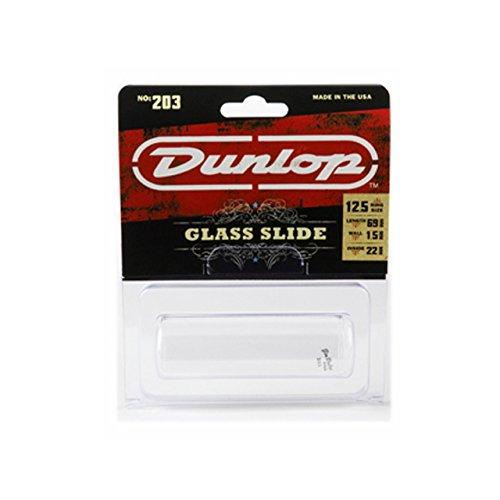 (Dunlop 203 Tempered Glass Slide, Regular Wall Thickness, Heavy)