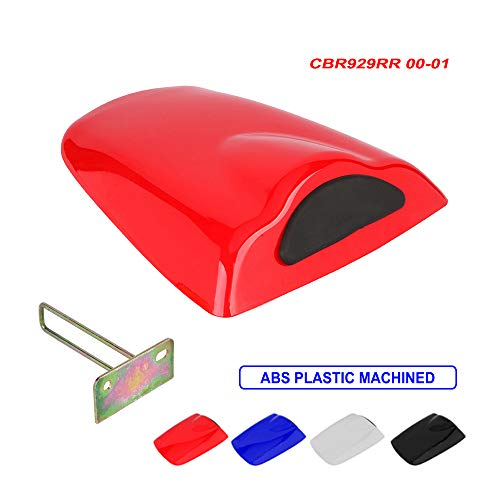 Motorcycle Red Rear Seat Cowl Passenger Pillion Fairing Tail Cover For Honda CBR929RR 2000-2001