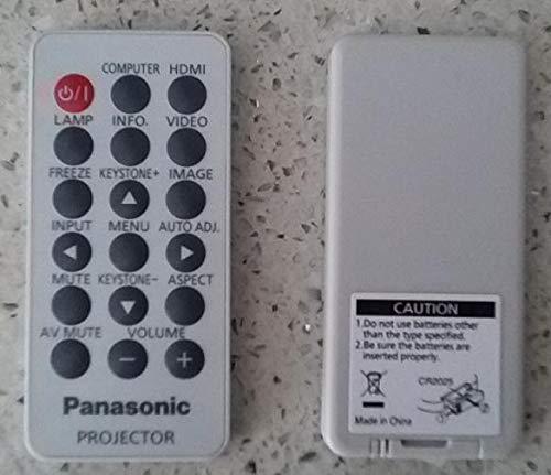 Calvas Original Projector Remote Control for Panasonic PT-CW240/PT-CX270/TW330U/PT-UW275C/PT-UX273C/PT-UX325C/PT-UX352C/PT-UW326C by Calvas