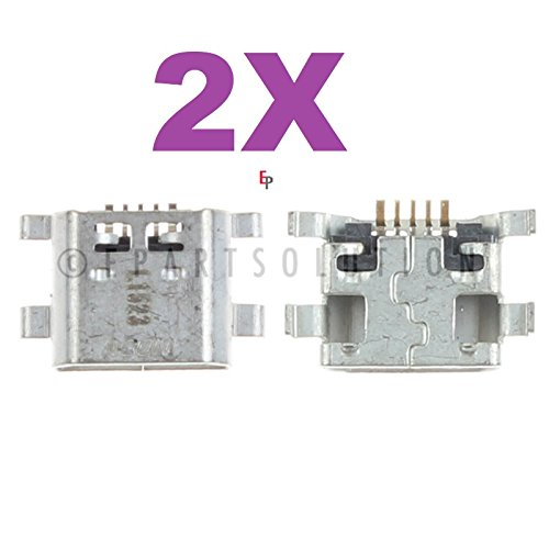 ePartSolution_2X Micro USB Charger Charging Port Dock Connector USB Port for Huawei Ascend P7 P7-L11 P7-L07 P7-L09 P7-L05 P7-L00 Replacement Part USA Seller]()