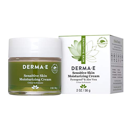 DERMA-E Sensitive Skin Moisturizing Cream, 2 Ounce