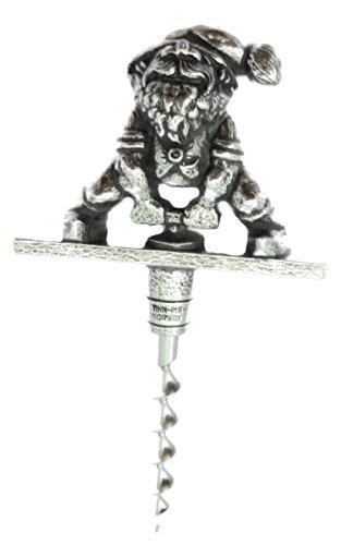 Nisse Korketrekker - Pewter Gnome Corkscrew
