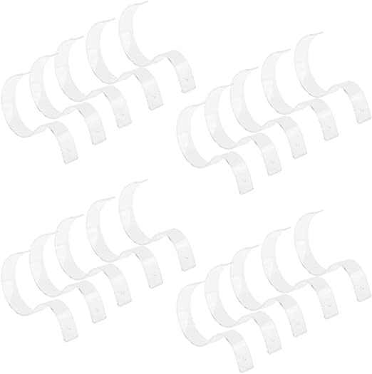 5x clair ceinture affichage support PVC Ceinture Exposition Stand Rack Support pour ceinture