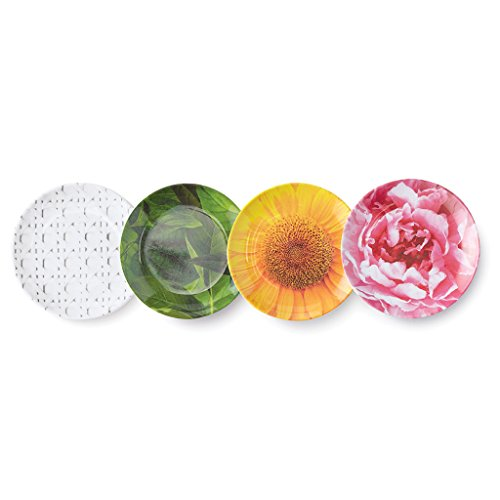 Melamine Coasters (Kate Spade New York Patio Floral Melamine Coaster Set, Floral, , Multi)