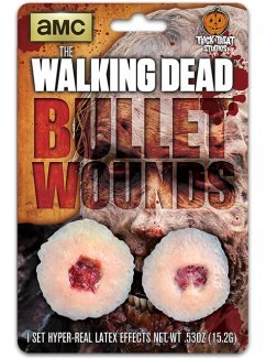 Trick Or Treat Studios The Walking Dead: Walker Bullet Wound Appliance]()