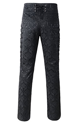 DarcChic Mens Obscura Trousers Pants Steampunk VTG Gothic Victorian 4