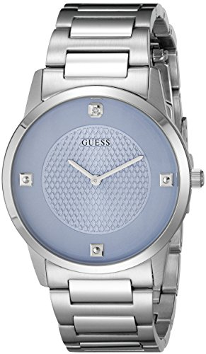 GUESS U0428G2 Diamond Accented Stainless Steel