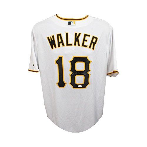 Neil Walker Autographed Pittsburgh Pirates White Premier Majestic Jersey JSA COA