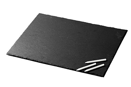 slate-cheese-tray-and-serving-plate-12-x-16-chalk-included-for-cafes-restaurants-weddings-or-dinner-