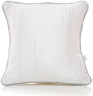 product image for Glenna Jean Starlight Pillow, Metallic Stripe/White/Sliver