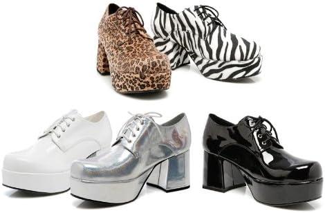 Ellie 312 Pimp Mens Leopard Oxfords Shoes
