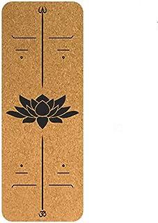 YOOMAT 3mm Premium Kork Naturkautschuk Yoga-Matte absorbieren Schweiß Komfortable rutschfeste verlieren Gewicht Übung Fitness Pilates Mat Tapis Yoga