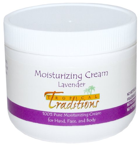 Tropical Traditions Moisturizing Cream Lavender — 4 fl oz
