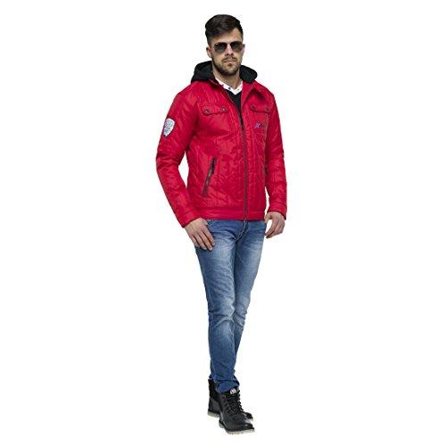 Uomini Di Perth Nebulus Giacca Rosso Invernale Degli qwXRIanYXr