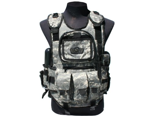 (GXG Deluxe Tactical Paintball Vests (ACU))