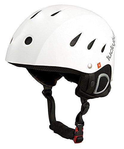 Explorer Adventure Backpack (Lucky Bums Snow Sport Helmet, White, X-Large)