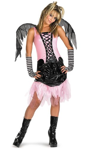 [Graveyard Fairy Size M, 7-8] (Dark Fairy Wings Costume)