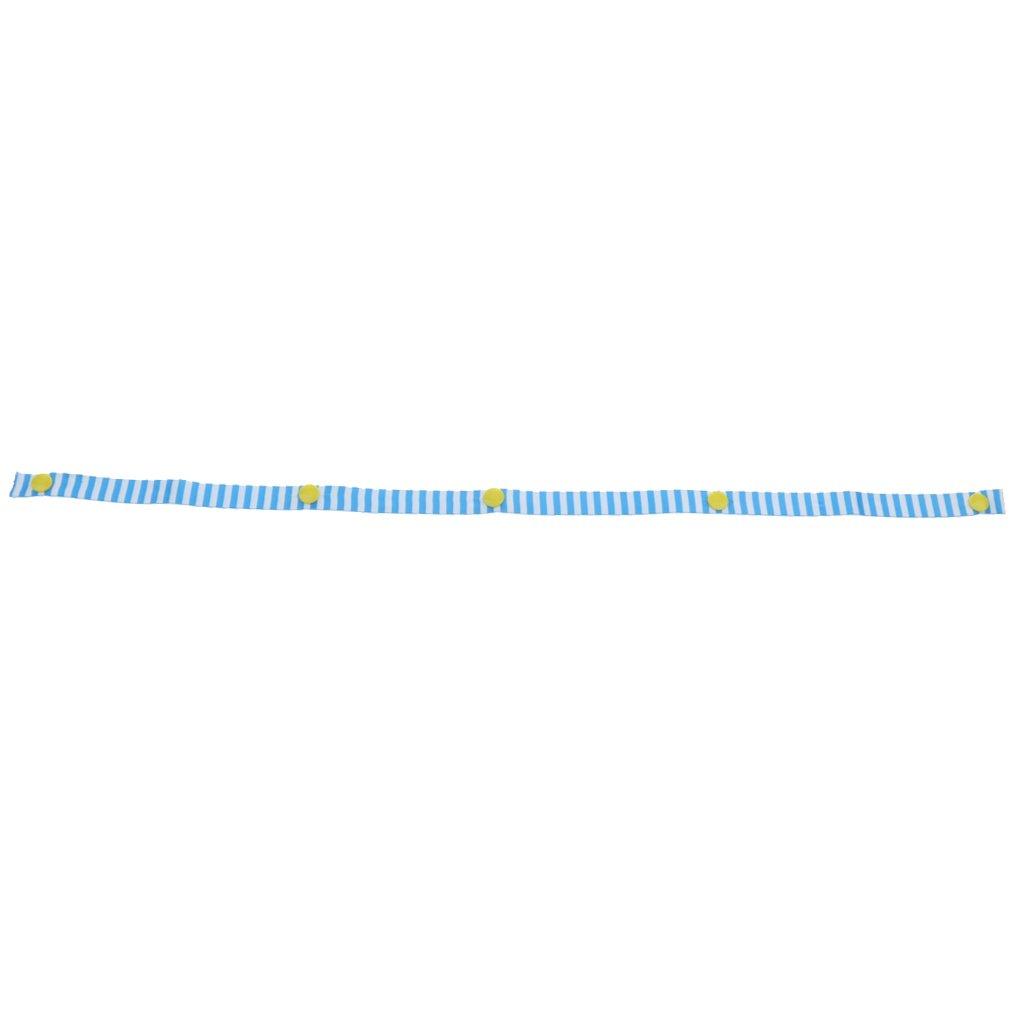 Kinderwagen Clips Einkaufstasche Haken Taschenclip Spielzeug Halter Klemmen Blau Gestreiften