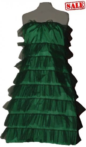 Green Christmas Fancy Tutu Dress Costume Dance Club Disco Wedding Evning Party Fancy Dress - Disco Dance Costume Designers