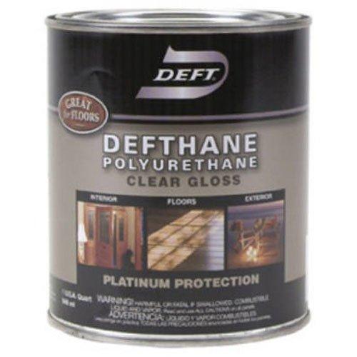 Deft DFT21/04 1 Quart Clear Gloss VOC Defthane Polyurethane