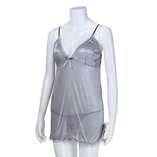 Notte Argento Sexy Da Donne Sexy Delle Da Con Underwear In Lingerie Pizzo In Pizzo Fiocco Sexy Notte Camicia Da ALIKEEY Donna Donna Babydoll Da Ug0wEq