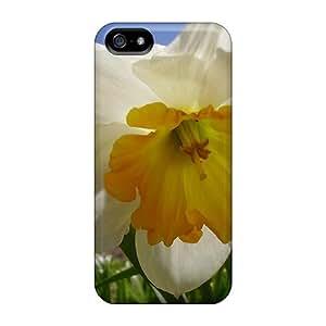 DeannaTodd Premium Protective Hard For SamSung Galaxy S4 Mini Phone Case Cover - Nice Design - Pretty Daffodil Flower
