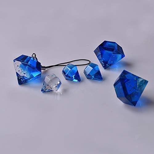 TOOGOO 3pcs Diamante Tre Piramide Forma Stampo in Silicone Fai da Te Gioielli Ciondolo Collana Resina stampaggio Perline Casting per Fare del mestiere