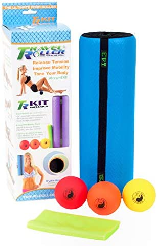 Travel Roller Acupressure Kit-Blue