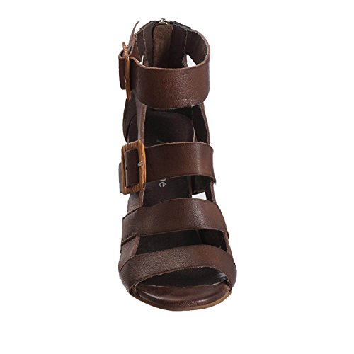 785 Straps Women's Coffee amp; Buckles Leather Antelope Cq5c7w44