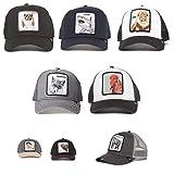 Goorin Brothers Unisex Animal Farm Snap Back Trucker Hat Grey You Stud One Size