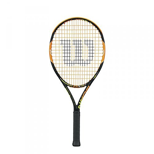 Wilson Junior Burn Racquet, 25-Inch (Junior Tennis Player)