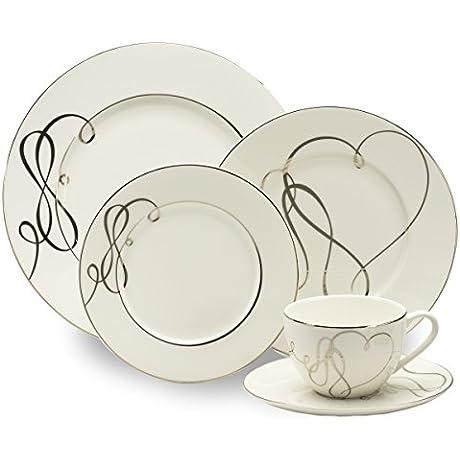 Mikasa Love Story 40 Piece Dinnerware Set Service For 8
