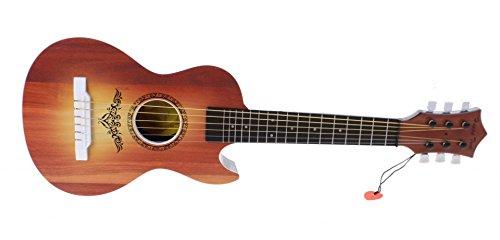 Johntoy–29487–Musikinstrument–Gitarre mit 6Saiten, 60cm 60cm