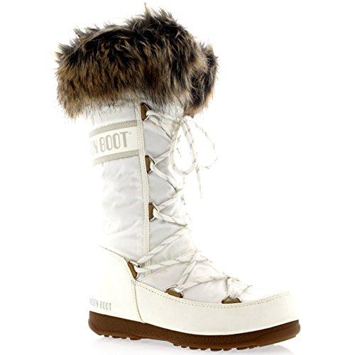 Felt Boot Bottes D'hiver Moon Black Femme Monaco azwUqqv