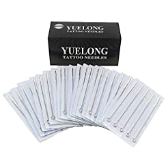 Tattoo Needles - Yuelong 100 Pieces Disp...