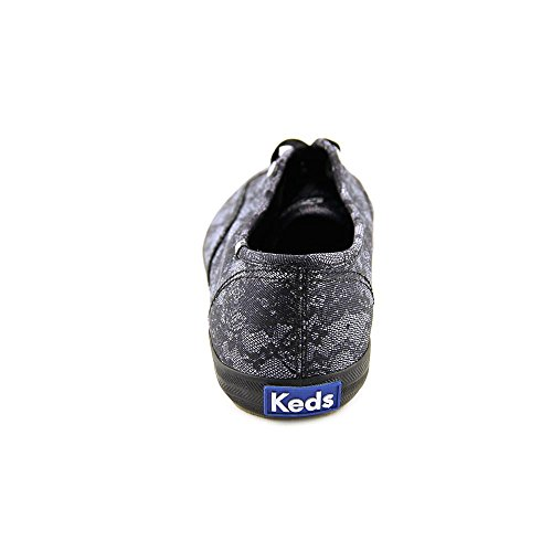 Keds Dames Champion Lace Print Sneakers Zwart