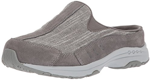 Easy Spirit Womens Traveltim270 Mule Grey/Grey Multi Suede