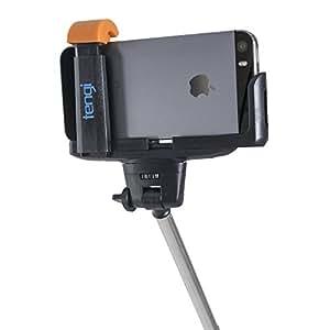 - Tengi negro Bluetooth monopié ajustable Bluetooth Selfie Stick