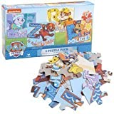 Paw Patrol PUZZLE - Everest, Rubble, Zuma, and Chase -- 12-piece Puzzle 4-pack