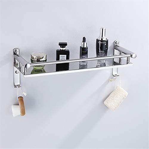 Bathroom Shelf Drilling Shelves Bath Towel Rack Wall Mounted Shower Corner Stainless Steel Caddy Kitchen Toilet Storage Basket