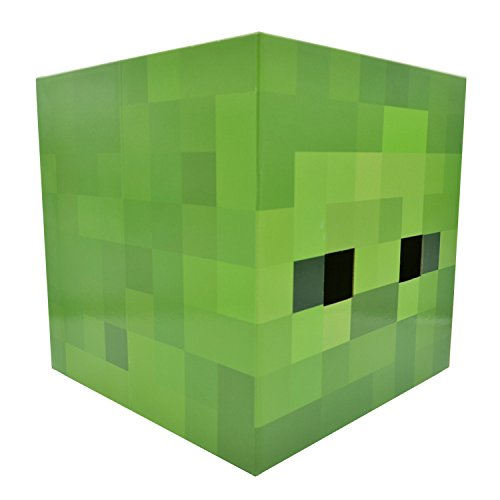 (Minecraft Steve Creeper Enderman Box Head Costume Mask)