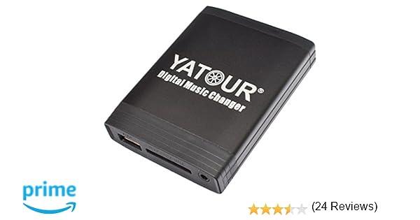 Yatour - Adaptador para radios de coche TOYOTA: Auris, Avensis T25 03-09, Corolla Verso 120 04-09, Hilux a partir de 04, RAV4 06-11, Yaris XP9 06-11, ...