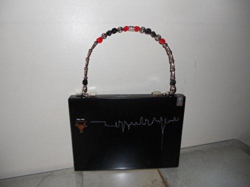 NYC Skyline Cigar Box Purse, Ladies Pocketbook, Vintage, Hand (Purse Cigar Box Purses)