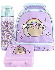 Pushen Lunchbox Unicorn Purple Lunch Bag Fles en snack-pot