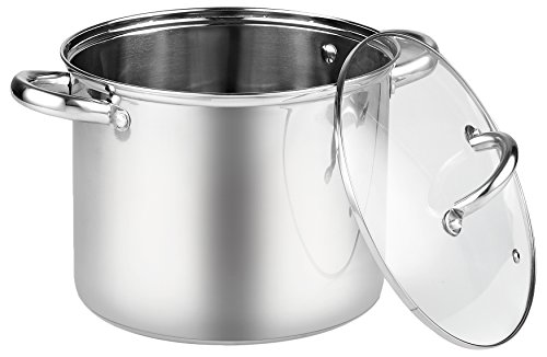 - Cook N Home 8 Quart Stainless Steel Stockpot with Lid