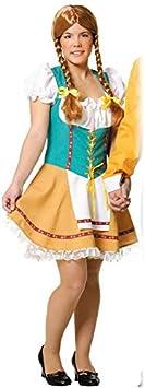 DISBACANAL Disfraz de Tirolesa Mujer - -, L: Amazon.es: Juguetes ...
