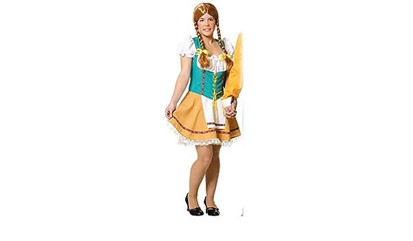 DISBACANAL Disfraz de Tirolesa Mujer - Único, L: Amazon.es ...